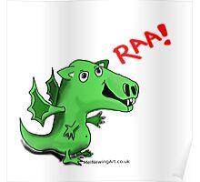 Ziggy the Dragon! Poster