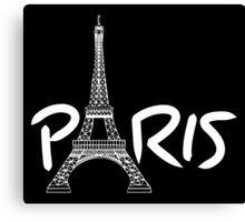 Tourist Paris Canvas Print