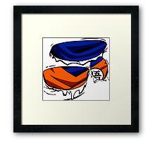 I AM SON GOKU Framed Print