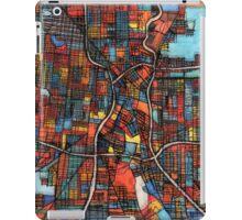 Abstract Map of San Antonio TX iPad Case/Skin