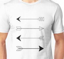 Shooting arrows Unisex T-Shirt