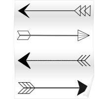 Shooting arrows Poster