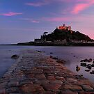 St Michaels Mount at Sunset by Rachel Slater