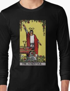 Tarot - The Magician (Black tees only) Long Sleeve T-Shirt