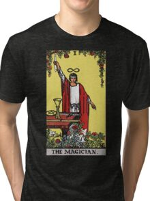 Tarot - The Magician (Black tees only) Tri-blend T-Shirt