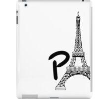 Tourist Paris iPad Case/Skin