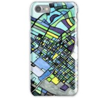 Abstract Map of State College PA iPhone Case/Skin