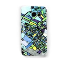 Abstract Map of State College PA Samsung Galaxy Case/Skin