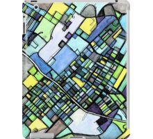 Abstract Map of State College PA iPad Case/Skin