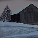 CrossRoads Barn by David Dehner