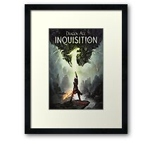 Dragon Age The Inquisition Framed Print