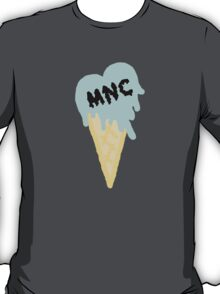 MNC - Ice cream heart (blue) T-Shirt
