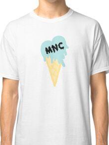 MNC - Ice cream heart (blue) Classic T-Shirt