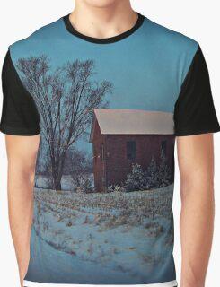 Blue Winter Morning Graphic T-Shirt