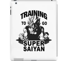 TRAINING GOKU SUPER SAIYAN - Baset of Dragon Ball iPad Case/Skin