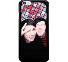 Dan Howell and Phil Lester iPhone Case/Skin