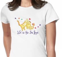 We Are So In Love Womens Fitted T-Shirt