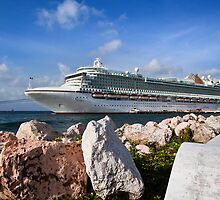 The Azura at Curacao by Dave Tanner