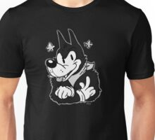 Tim the Old-Timey Wolf Unisex T-Shirt