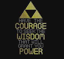 Zelda motivational speech - Triforce Classic T-Shirt