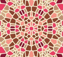 Chocolate Rose - Voronoi Sticker