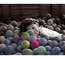 The Ball Box Photographic Print