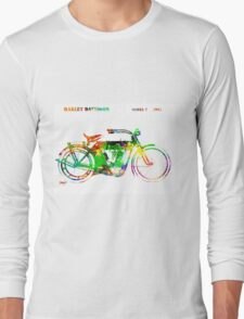 Harley Davidson Model 7 1911 Long Sleeve T-Shirt