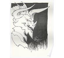 Dragon Bust Davrok Poster