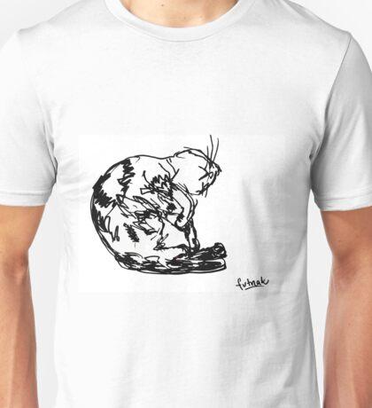 Cute sleeping cat Unisex T-Shirt