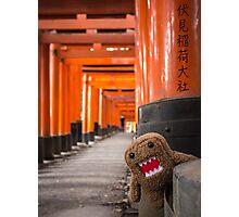 Domo-kun in Fushimi Inari-taisha Photographic Print