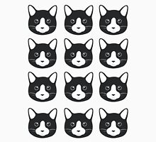 Black Cat Pattern Unisex T-Shirt