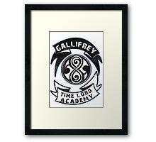 Gallifrey academy Framed Print