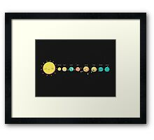 A Big Crazy Family Framed Print