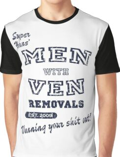 Peep Show – Men With Ven Graphic T-Shirt