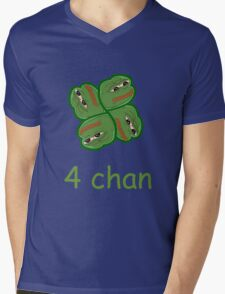 4 chan pepe Mens V-Neck T-Shirt