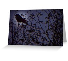 Once Upon A Midnight Dreary Greeting Card