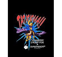 Gililimus : Superhero! Photographic Print