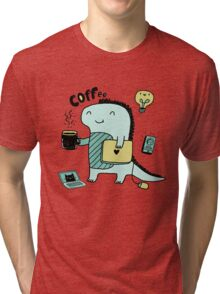 Communication Dinosaurs.  Tri-blend T-Shirt