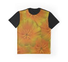 Poppy Flower Floral oil painting Graphic T-Shirt