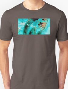 Liquid Art - Aqua Dance - Sharon Cummings Unisex T-Shirt