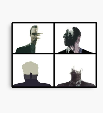 True detective opening composition Canvas Print