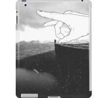 suicide in black and white iPad Case/Skin