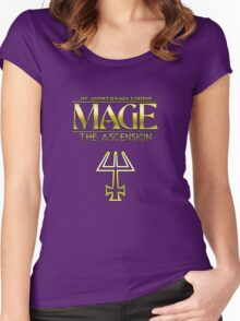 Mage: The Ascension 20th Anniversary Edition Women's Fitted Scoop T-Shirt