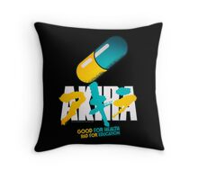 Akira Pill Throw Pillow