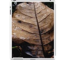 Leaf and Dew. iPad Case/Skin
