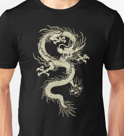 CHINESE DRAGON GOLD Unisex T-Shirt