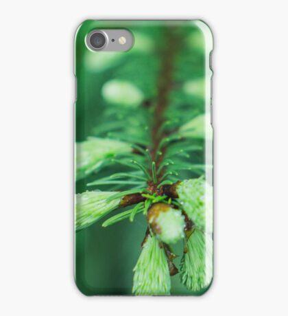 wet fir iPhone Case/Skin