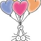 Love Is In The Air Watercolor by FamilyT-Shirts