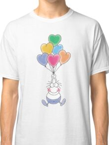 Love Is In The Air Watercolor Classic T-Shirt