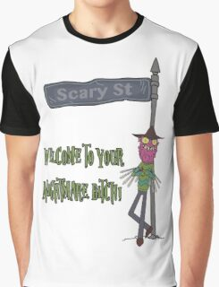 Rick and Morty – Welcome to Your Nightmare, Bitch! Graphic T-Shirt